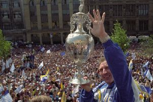 The event celebrates Leeds United's 1992 Division One title win.