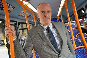 Steve Walker, Stagecoach North East managing director.