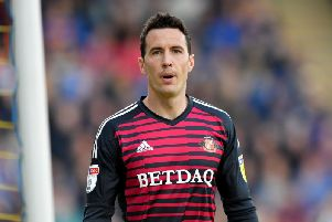 Sunderland goalkeeper Jon McLaughlin wasn't included in the League One team of the season.
