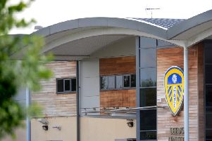 Leeds United's training ground Thorp Arch.