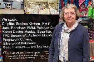 Gillian Davies has been in business for a whopping 50 years!