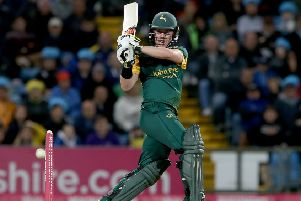 Tom Moores hqas enjoyed a great start to his career at Nottinghamshire. (Photo by Nigel Roddis/Getty Images)