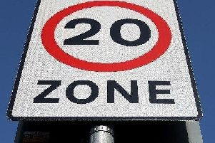 The roads could see their speed limits cut to 20mph