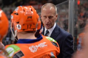 Sheffield Steelers head coach, Tom Barrasso 'Picture: Dean Woolley.