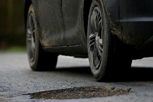 A report last week said councils needed to spend 1bn over the next decade to bring roads up to scratch