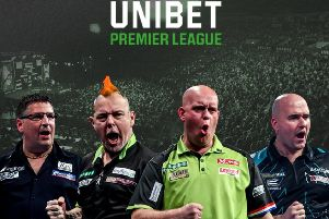 Your chance to win tickets for the Unibet Premier League darts action at Sheffield.