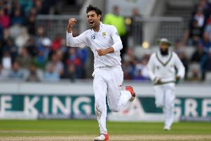 Spearhead: Duanne Olivier in action for South Africa.  Picture: Getty Images