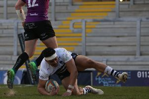 Elijah Nico goes over for a try