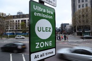 The ultra-low emission zone has been introduced in London