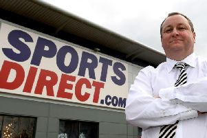 Mike Ashley Picture:  Joe Giddens/PA Wire.