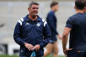 Yorkshire Carnegie director of rugby, Chris Stirling.