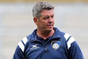 Yorkshire Carnegie coach, Chris Stirling.