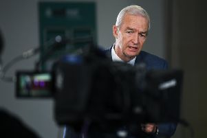 Channel 4 News presenter Jon Snow at an event in Leeds earlier this year.