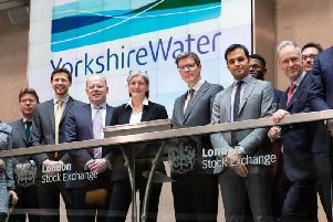 Yorkshire Waters LSEG welcome ceremony