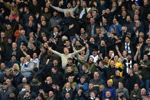 MORE TICKETS: For Leeds United's travelling support, pictured at Preston North End.