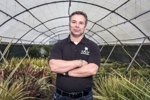 Graham Richardson, managing director of commercial nursery business Johnsons of Whixley.