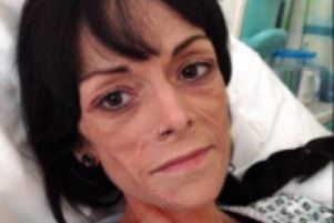 Kirk Hallam resident Michelle Oddy is waiting on a multiple organ transplant to save her life after years of health problems arising from Crohn's disease.