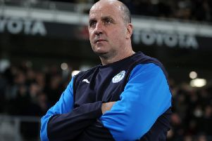 CAPABLE: Wigan Athletic boss Paul Cook.