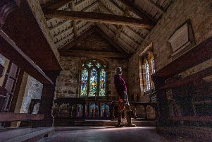 John Inch, St Mary's Church Warden inside the church. Picture: James Hardisty