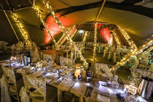 Tipi weddings are now being held at Kielder Water and Forest Park. Picture by Neil Denham