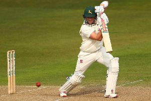 Joe Clarke hit a brilliant century in the win for Notts.