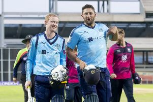 Yorkshire's Jonny Tattersall & Tim Bresnan played a pivotal role in Yorkshire earning a tie at Warwickshire on Friday.