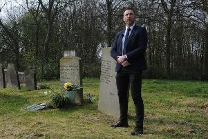 West Yorkshire Police's Det Supt Carl Galvin at the David Oluwale memorial event.