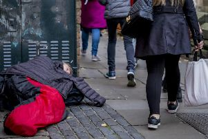 The text-to-give initiative was announced in November 2018 as a way for people to donate to rough sleepers. Stock image.