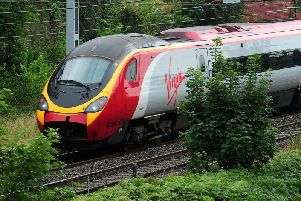 A Virgin train. Picture by Rui Vieira/PA Wire