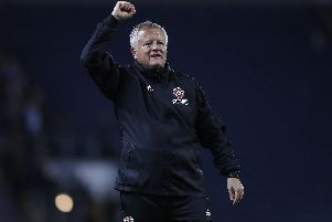 ALMOST THERE: Sheffield United boss Chris Wilder.