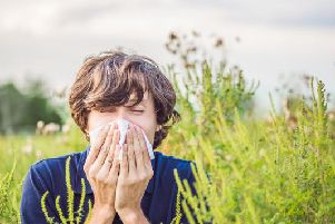 The weather of late has seen an increase in temperatures - but with this comes the rise of pollen.