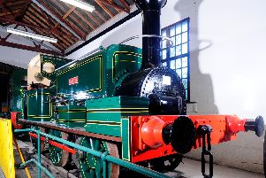 The Aldwyth loco at Leeds Industrial Museum.