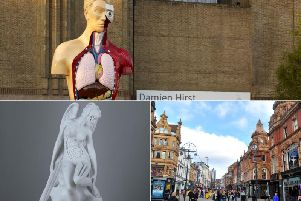 Two major sculptures by world-famous Damien Hirst are set to be installed in Leeds this summer.