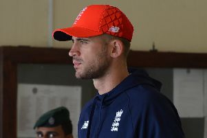 Alex Hales has been withdrawn from England's provisional World Cup squad. (Photo: LAKRUWAN WANNIARACHCHI/AFP/Getty Images)