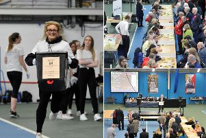 The count underway for the Sunderland City Council elections. Picture: North News.