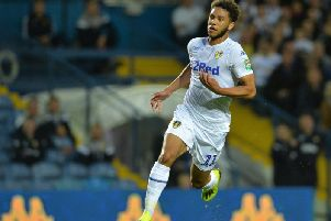 Leeds United forward Tyler Roberts.