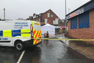 Harehills Road closed off after fight left stab victim in critical condition