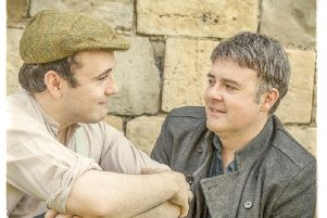 Charlie Spencer, left, playing George, and  Mark Fuller playing  John