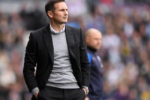 Derby County head coach Frank Lampard.