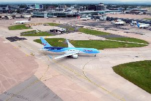 General view of Manchester Airport