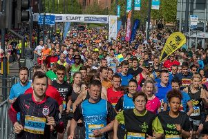 Roads in Leeds will be closed on Sunday May 12 for the Leeds Half Marathon