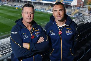 Dave Furner and Kevin Sinfield.