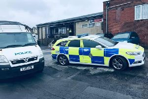 Police raided for addresses on linked drug warrants in Armley. Photo: West Yorkshire Police - Leeds West.