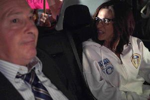 A screenshot from the latest episode of Veep via Reddit.