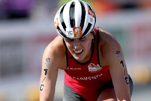 Jess Learmonth in action during the 2018 Commonwealth Games in the Gold Coast, Australia.