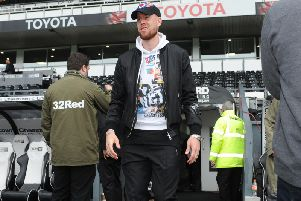 INJURED: Pontus Jansson. Picture by Tony Johnson.