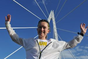Organisers hailed the race on the Northern Spire Bridge a great success.