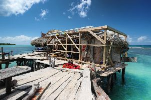 Floyd's Pelican Bar in Jamaica. PIC:  Joe Pepler/PinPep/PA Wire