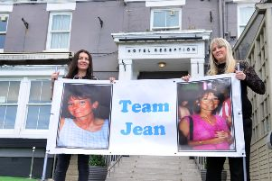 Alzheimers Research fundraiser at the Roker Hotel in memory of Jean Brown. Daughters from left Janine Brown and Danielle Lister