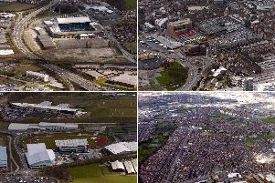 Your Leeds from the air.